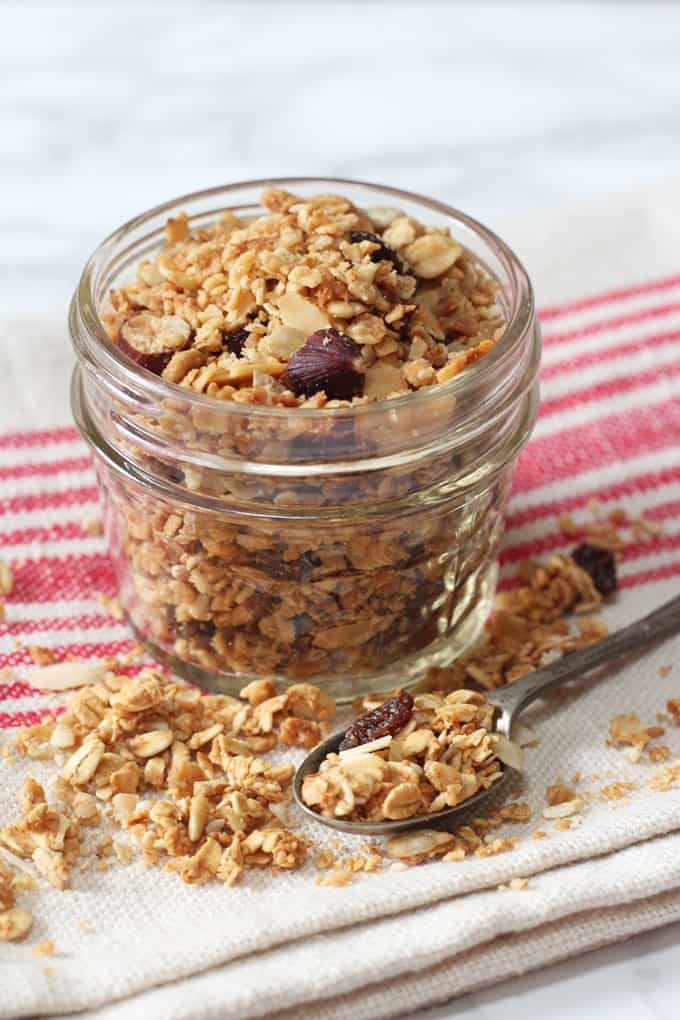Easy Microwave Granola - My Fussy Eater