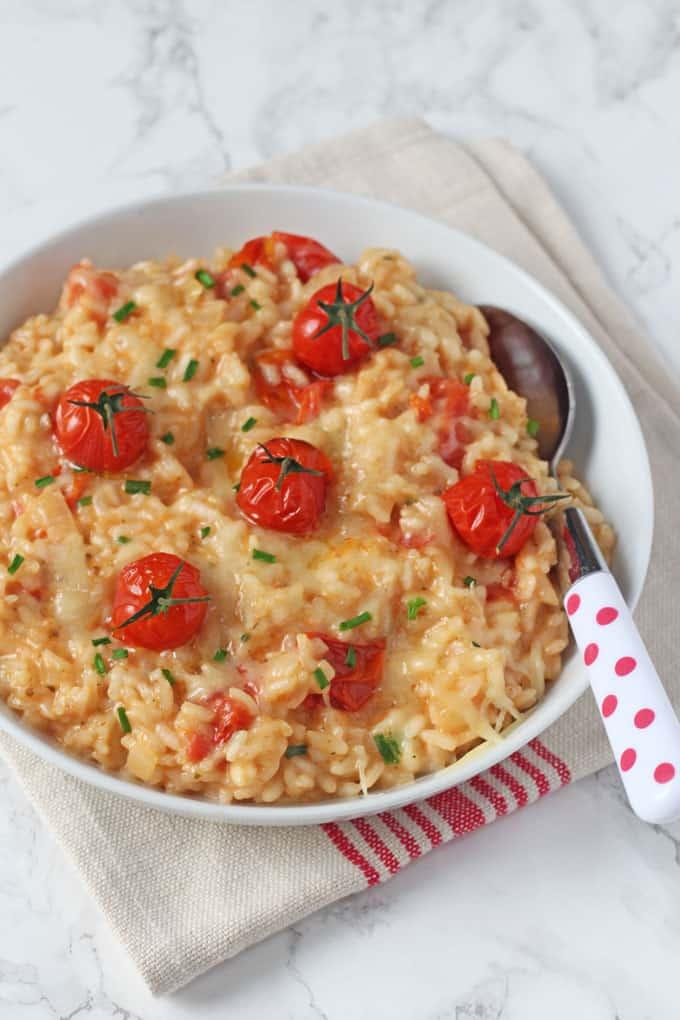 recipe: tomato risotto recipe vegetarian [39]