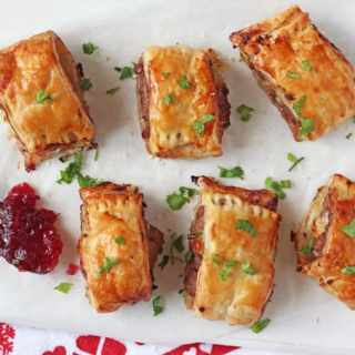 Turkey, Cranberry & Brie Rolls