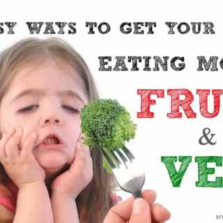5 Easy Ways To Get Your Kids To Eat More Fruit & Veg!