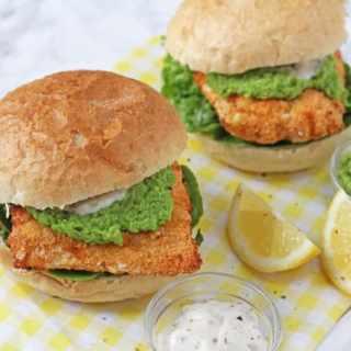 Healthy Fish Finger Sandwich & Optimum HealthyFry Air Fryer
