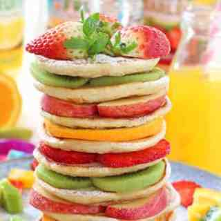 Fruit Pancakes with Robinsons