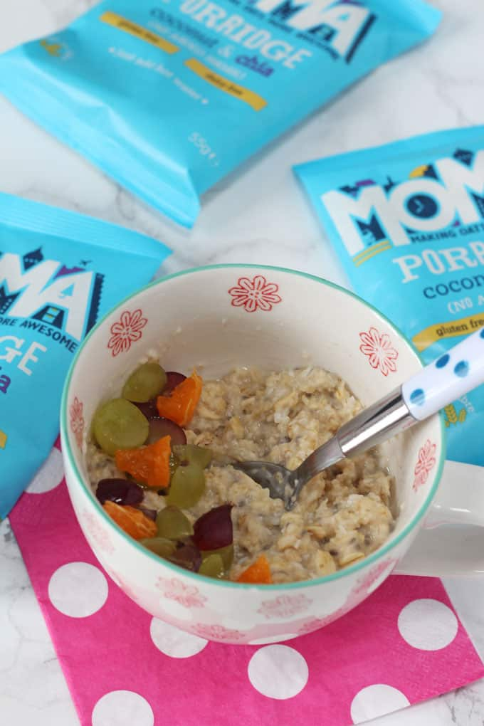 Two tasty new additions to the MOMA Porridge range!