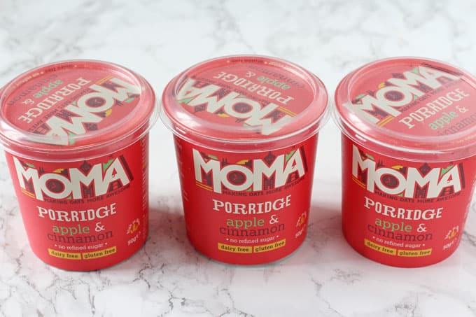 Two tasty new additions to the MOMA Porridge range!