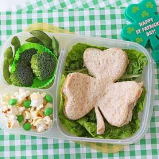 St Patrick's Day Lunch Box for Kids!