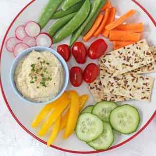 Cheese & Chive Chickpea Dip