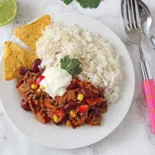 Chilli Con Carne for Kids