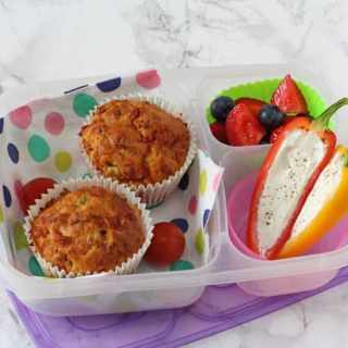 Pizza Lunchbox Savoury Muffins