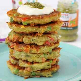 Pesto Vegetable Fritters