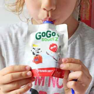 Snacks On The Go With GoGo squeeZ