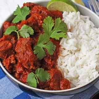 Easy Slow Cooker Lamb Curry