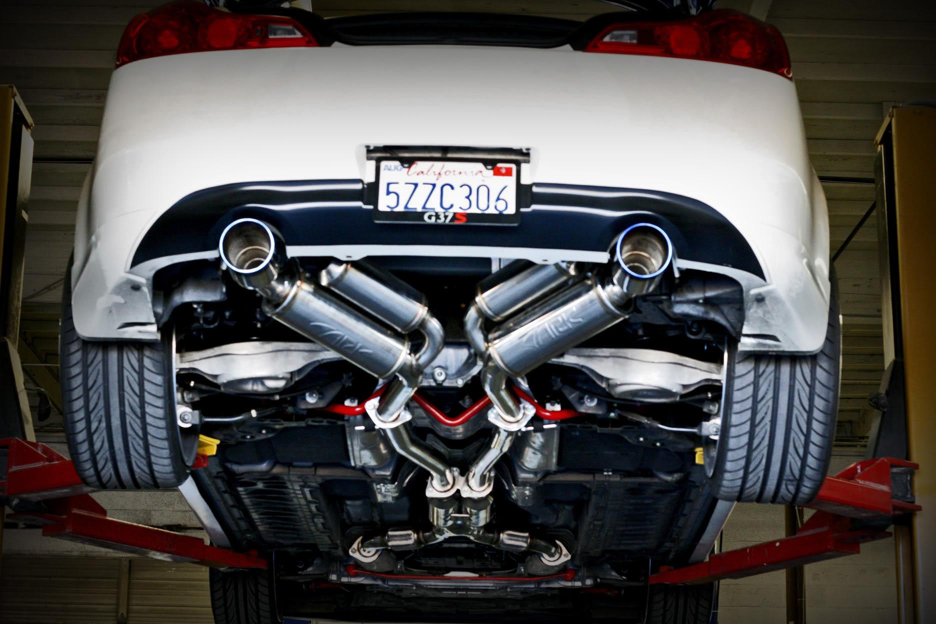 g37 coupe g37 sedan grip exhaust