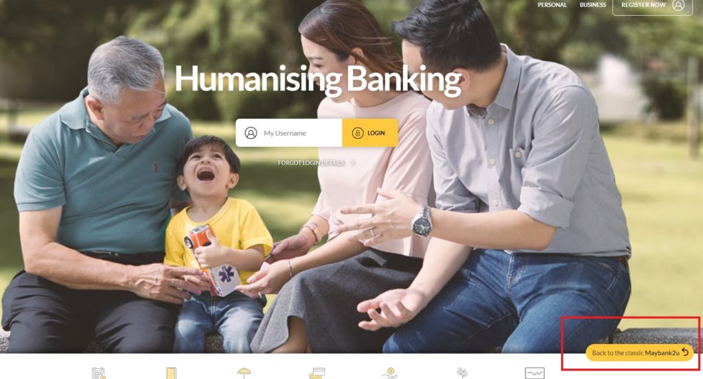 How to print transaction history Maybank2u
