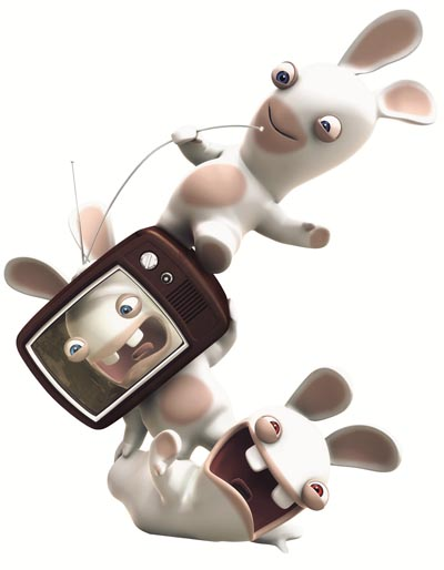 Rabbids Set to Invade Your TV Rabbids Set to Invade Your TV 4153SquallSnake7