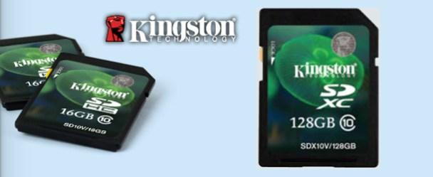 Kingston 128GB SDXC Class 10 Memory Card Review Kingston 128GB SDXC Class 10 Memory Card Review Kingston