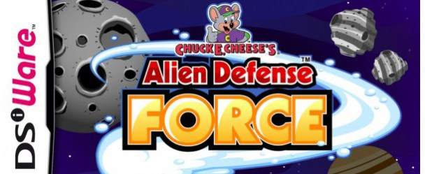 Chuck E. Cheese's Alien Defense Force (DSiWare) Review Chuck E. Cheese's Alien Defense Force (DSiWare) Review Chuck E Alien Def Force Banner