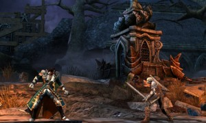 Confrontation in the Graveyard New Castlevania Mirror of Fate (3DS) Screens New Castlevania Mirror of Fate (3DS) Screens Confrontation in the Graveyard 300x180