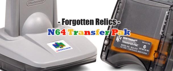 Forgotten Relics – N64 Transfer Pak FORGOTTEN RELICS – N64 Transfer Pak Forgotten Relics N64 Transfer Pak Banner