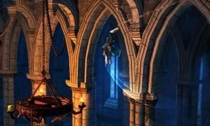 Trevor swinging in the chapel New Castlevania Mirror of Fate (3DS) Screens New Castlevania Mirror of Fate (3DS) Screens Trevor swinging in the chapel 300x180