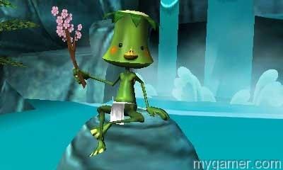 This beaked-frog is basically your Navi Sakura Samurai: Art of the Sword (3DS eShop) Review Sakura Samurai: Art of the Sword (3DS eShop) Review Sakura Samurai Kapa