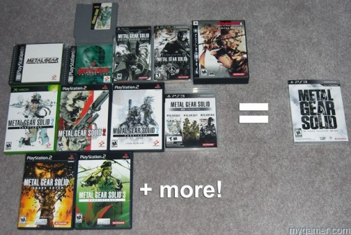 All this equals that The Metal Gear Solid Legacy Collection (PS3) Review The Metal Gear Solid Legacy Collection (PS3) Review Metal Gear Legacy Equals Edit