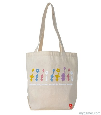 A Pikmin sack Club Nintendo August 2013 Summary Club Nintendo August 2013 Summary pikmin tote bag big 1