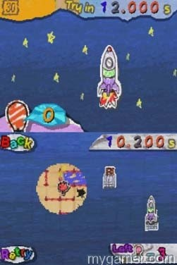 The goal in Side B is to launch rockets Candle Route DSiWare 3DS eShop Review Candle Route DSiWare 3DS eShop Review Candle Route Rocket