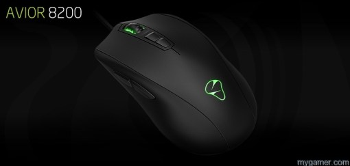 The logo and scroll wheel light up impressively Mionix Avior 8200 Gaming Mouse Review Mionix Avior 8200 Gaming Mouse Review Product banner Avior8200 01