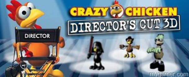 More Crazy Chickens Coming to DSiWare and eShop More Crazy Chickens Coming to DSiWare and eShop Crazy Chickens Directors Cut Banner