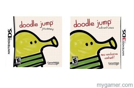 Doodle Jump DS 3dS banner