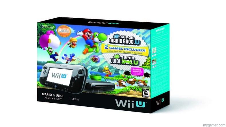 Wii U Mario Luigi Bundle