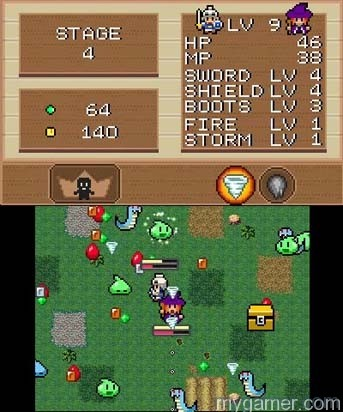 Gameplay can become pretty chaotic Witch & Hero 3DS eShop Review Witch & Hero 3DS eShop Review Witch and Hero attack