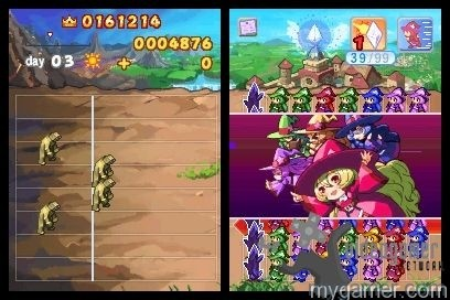 Battle heats up quickly Wizard Defenders DSiWare 3DS eShop Review Wizard Defenders DSiWare 3DS eShop Review Wizard Defenders2