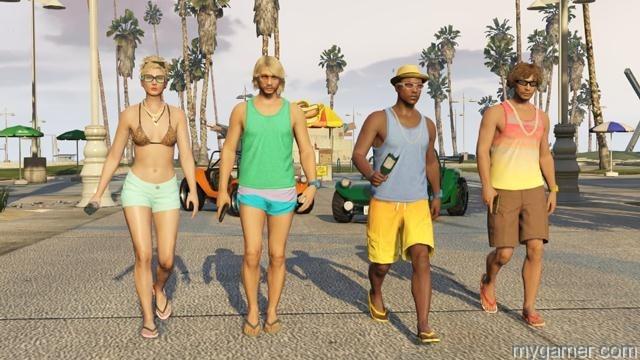 Grand Theft Auto V Beach Bum 4