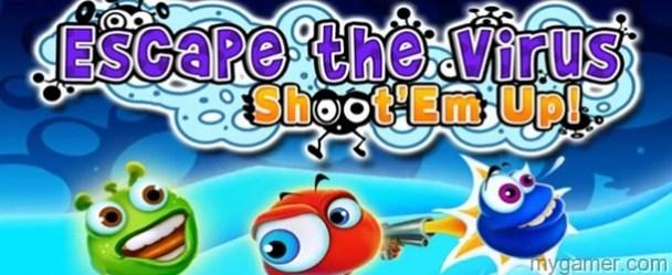 Escape the Virus: Shoot'em Up! DSiWare Review Escape the Virus: Shoot'em Up! DSiWare Review Escape the Virus Shootem Up banner