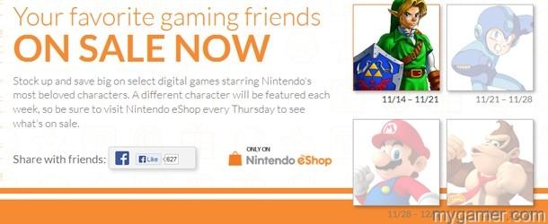 Nintendo eShop Sale banner