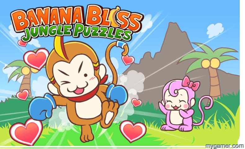Banana Bliss Jungle Puzzles Banner