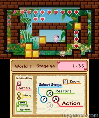 Banana Bliss Jungle Puzzles Controls Banana Bliss: Jungle Puzzles 3DS eShop Review Banana Bliss: Jungle Puzzles 3DS eShop Review Banana Bliss Jungle Puzzles Controls