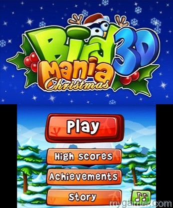 Being straightforward makes it easy to play Bird Mania 3D Christmas 3DS eShop Review Bird Mania 3D Christmas 3DS eShop Review Bird Mania 3D Christmas Title