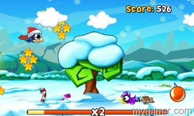BirdManiaChristmas3D_Screen01 Bird Mania Returns to the 3DS eShop for Christmas Bird Mania Returns to the 3DS eShop for Christmas BirdManiaChristmas3D Screen01