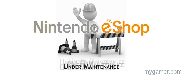 Nintendo eShop Maintentance