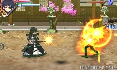 Beat'em up Senran Kagura 3DS eShop Review Senran Kagura 3DS eShop Review Senran Kagura Burst Screenshot 5