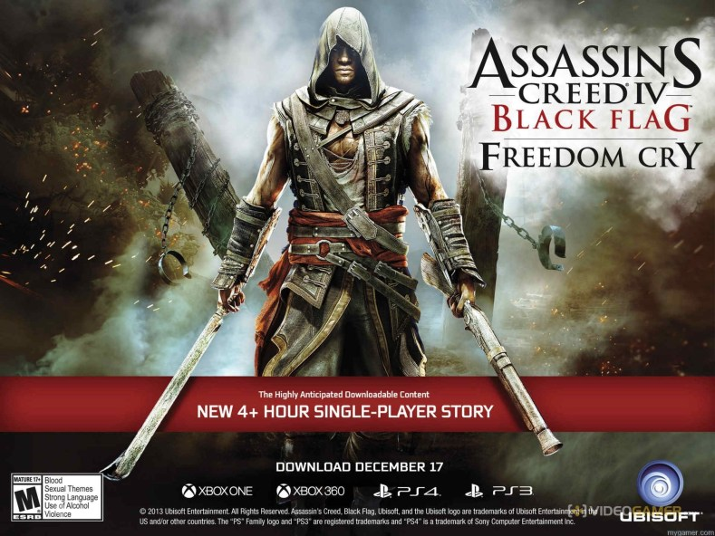 Assassin's Creed Freedom Cry Now Available As A Stand Alone Title Assassin's Creed Freedom Cry Now Available As A Stand Alone Title Ass Creed Freedom Cry