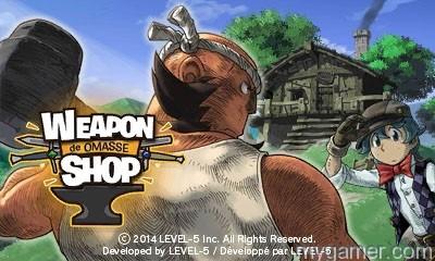 Weapon Shop de Omasse 3DS eShop Review Weapon Shop de Omasse 3DS eShop Review Weapon Shop Banner