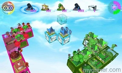 Look mom, no grid or boundaries. Cube Tactics 3DS eShop Review Cube Tactics 3DS eShop Review Cube Tactics Sky