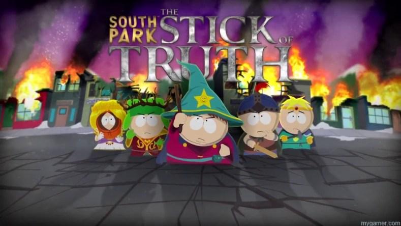 South Park Stick of Truth logo