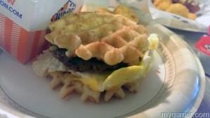 White Castle Breakfast Waffle