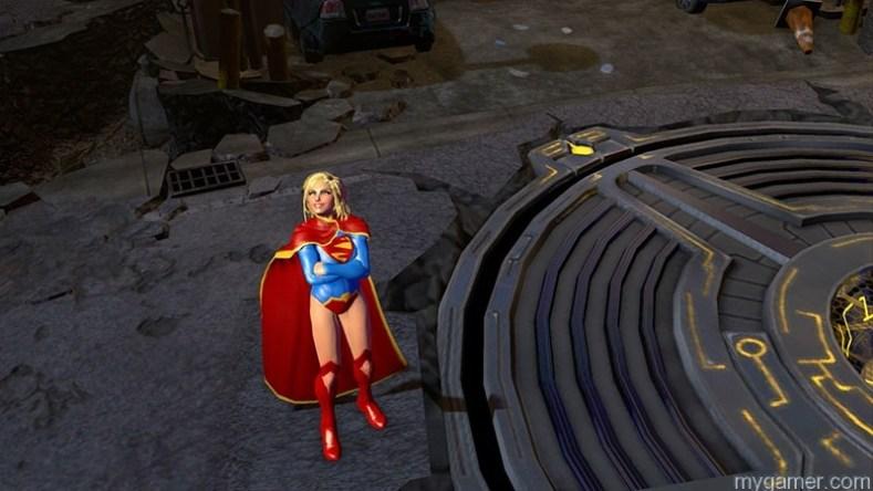 Infinite Crisis Supergirl