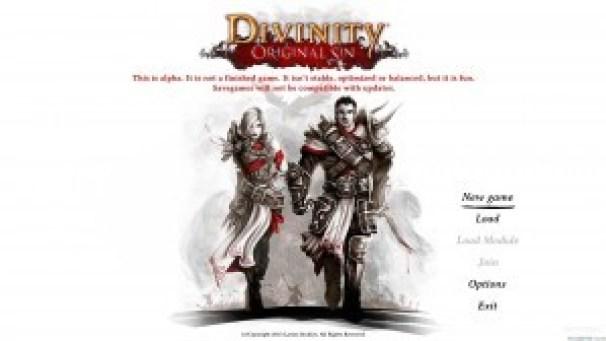 Divinity Original Sin Menu