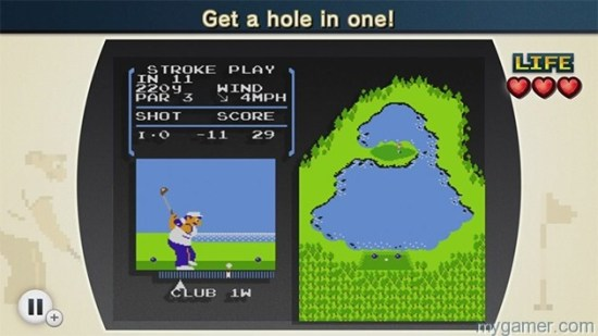 The Golf challenges are especially difficult NES Remix Review NES Remix Review NES Remix4